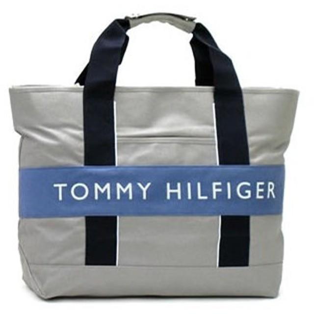 トミーヒルフィガー tommy hilfiger トートバッグ harbour point ii l500112 tote platinum / faded blue