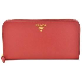 プラダ PRADA 財布 サイフ さいふ ラウンドファスナー長財布 型押しカーフスキン 1ML506 QWA 011