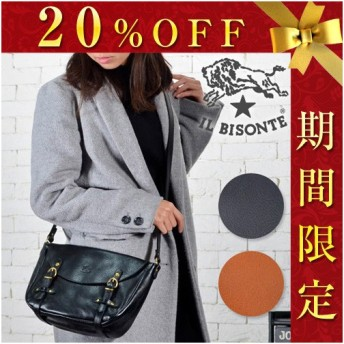 【20%OFFセール!期間限定】イルビゾンテ IL BISONTE ショルダーバッグ A2186 イル ビゾンテ