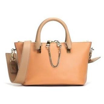 クロエ chloe バッグ 斜めがけ 3s0171 mini shoulder bag wet sand/coral reef or