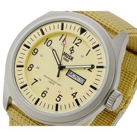ムスク MUSK クオーツ メンズ 腕時計 MSK2502403