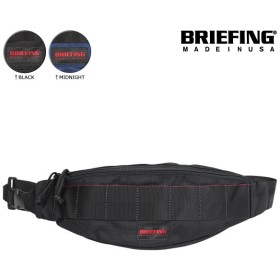 ブリーフィング BRIEFING ボディバッグ ウエストバッグ メンズ ブラック ネイビー 黒 BRF071219