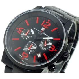 サルバトーレ マーラ SALVATORE MARRA クロノグラフ 腕時計 SM12109-IPBKRD