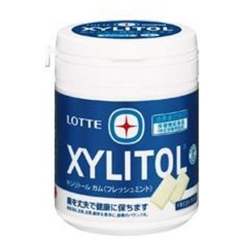 (まとめ)キシリトールボトルガム フレッシュミント 150g 3個