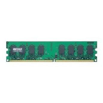 バッファロー PC2-5300(DDR2-667)対応 DDR2 SDRAM 240Pin用 DIMM1GB D2/667-S1G