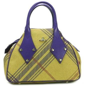 ヴィヴィアン ウエストウッド vivienne westwood ハンドバッグ derby leather 5589 mac clarence/viola yl