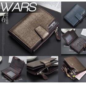 レザー 財布 2つ折り カード 収納 大容量 PU KZ-13840 予約