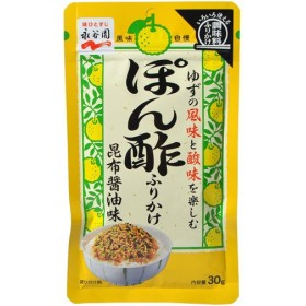 永谷園 ぽん酢ふりかけ 昆布醤油味 30g