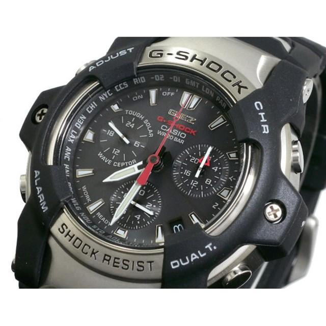 カシオ Gショック GIEZ 電波ソーラークロノ 腕時計 GS-1000J-1AJF