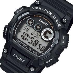 カシオ CASIO スタンダード デジタル メンズ 腕時計 W-735H-1A ブラック