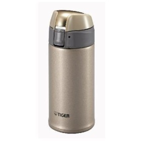 タイガー TIGER 魔法瓶 ステンレスミニボトル 0.35L MMQ-S035-NH シャンパンゴールド