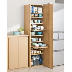 食器が探しやすく取り出しやすい食器棚 幅45cm 611610