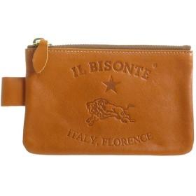 イルビゾンテ IL BISONTE ユニセックス ポーチ C0942P145 キャメル