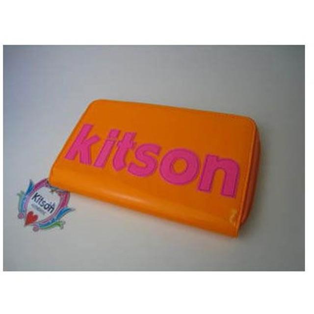 9d761d76e5d3 KITSON キットソン ラウンドファスナー長財布 KIT-111-ORPK 通販 LINE ...