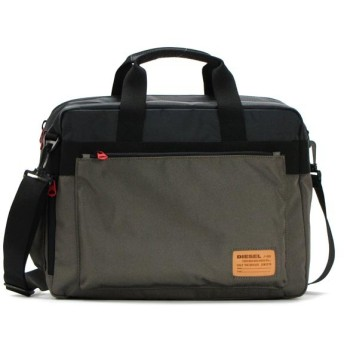 ディーゼル diesel バッグ 斜めがけ x02405 briefcace black/olive night bk/gr