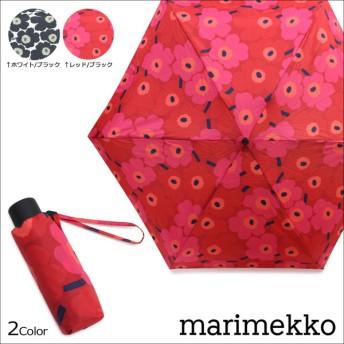 マリメッコ 傘 折りたたみ ウニッコ marimekko MINI UNIKKO MINI MANUAL UMBRELLA 038653 北欧 レディース