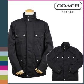 コーチ COACH メンズ ジャケット F82712 ネイビー ナイロン フィールド ブルゾン