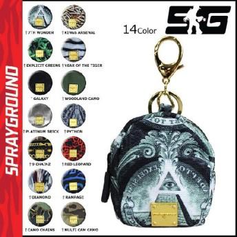 スプレーグラウンド SPRAY GROUND マルチ ポーチ 14カラー MINI POUCH ミニ ケース メンズ レディース
