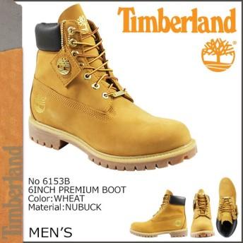 ティンバーランド Timberland 6インチ プレミアム ブーツ 6 INCH PREMIUM BOOTS ヌバック メンズ 6153B ウィート