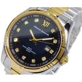 マウロ ジェラルディ MAURO JERARDI ソーラー メンズ 腕時計 MJ037-2 ブラック