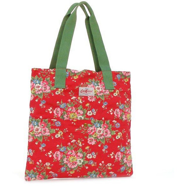 CATH KIDSTON キャス キッドソン FASHION WASHED COTTON TOTE W/POCKET 255288
