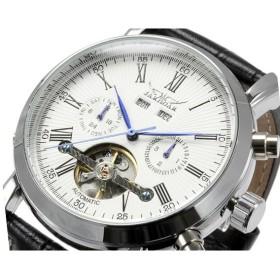 ジャラガー JARAGAR 自動巻き メンズ 腕時計 BCG122SVWH 正規品 ホワイト