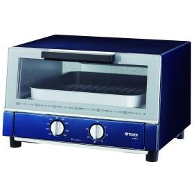 送料無料 タイガー オーブントースター やきたて  ネイビー KAM-G130AN