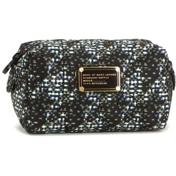 マークバイマークジェイコブス marc by marc jacobs ポーチ バッグ m0001495d small cosmetic indigo multi d.bl