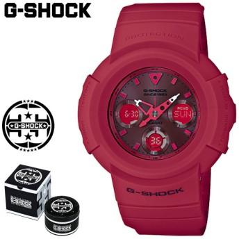カシオ CASIO G-SHOCK 腕時計 AWG-M535C-4AJR RED OUT 35周年 ジーショック Gショック G-ショック レッド メンズ レディース