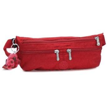 キプリング kipling ベルトバッグ K13243 SECURE RED