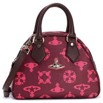 ヴィヴィアン ウエストウッド vivienne westwood ハンドバッグ 13491 sm yasmine bag fuxia pk
