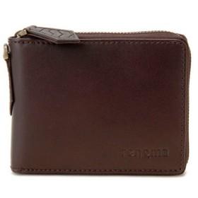 レノマ renoma ジップウォレット 二つ折り短財布 メンズ RE9001-002 ブラウン