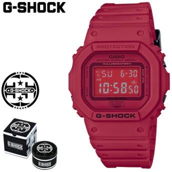 カシオ CASIO G-SHOCK 腕時計 DW-5635C-4JR RED OUT 35周年 ジーショック Gショック G-ショック レッド メンズ レディース