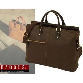 バジェックス BAGGEX 暁 ビジネスバッグ 日本製 メンズ 23-0559 ブラウン