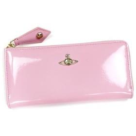 ヴィヴィアン ウエストウッド vivienne westwood 長財布 長札 apollo 32301 long wallet with zip pink l.pk