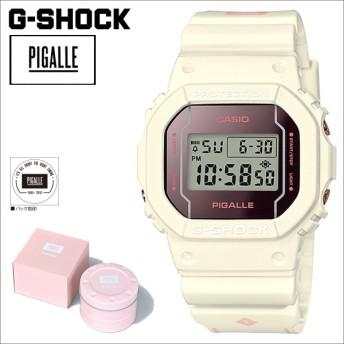 カシオ CASIO G-SHOCK 腕時計 ピガール DW 5600PGW 7JR PIGALLE ジーショック G-ショック Gショック メンズ レディース ホワイト 8/22 再入荷