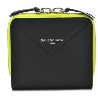 バレンシアガ BALENCIAGA 財布 サイフ さいふ 二つ折り財布 PAPER ZA BILLFOLD 371662 DLQ1N 1090