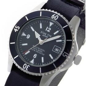 スタッグ STAG TYO クオーツ メンズ 腕時計 STG018S2 ブラック