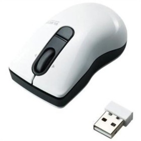 エレコム 3ボタンワイヤレスレーザーマウス Micro Grast Switch Sサイズ ホワイト M-BG3DLWH