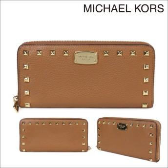 MICHAEL KORS マイケルコース 財布 長財布 ラウンドファスナー 35T7GTTZ1L レディース ブラウン