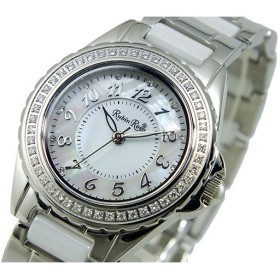 ルビンローザ RUBIN ROSA ソーラー 腕時計 R303SWHMOP
