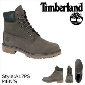 Timberland ティンバーランド 6INCHI 6インチ プレミアム ブーツ 6-INCH PREMIUM WATERPROOF BOOTS A17PS Wワイズ 防水 グレー メンズ
