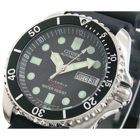 シチズン CITIZEN 自動巻き 腕時計 メンズ  ダイバーズ NY2300-09E