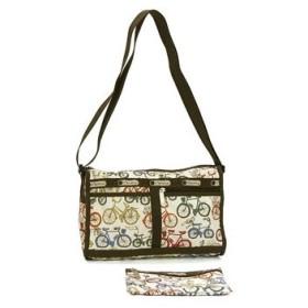 レスポートサック lesportsac ショルダーバッグ 7519 deluxe shoulder satchel バイシクル