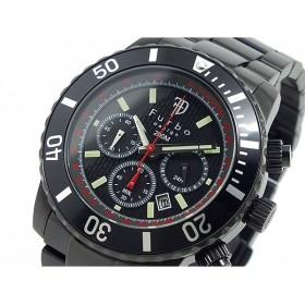 フルボデザイン ソーラー クロノグラフ 腕時計 FS401BBK