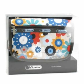 LeSportsac レスポートサック キューテシー boxed travel cosmetic ポーチ 6502