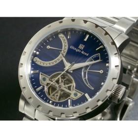 ジョルジオ ロッシ 腕時計 自動巻き パワーリザーブ GR-5002-BL