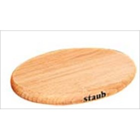 ストウブ 木製マグネットトリベット 楕円 15cm 40509-516 代引不可