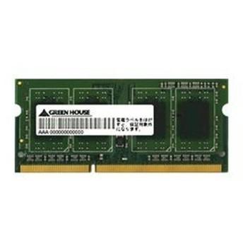 グリーンハウス PC3-10600 DDR3 SO-DIMM 2GB GH-DWT1333-2GG