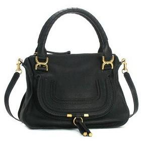クロエ chloe ショルダーバッグ 3s0860 medium shoulder bag with strap black bk